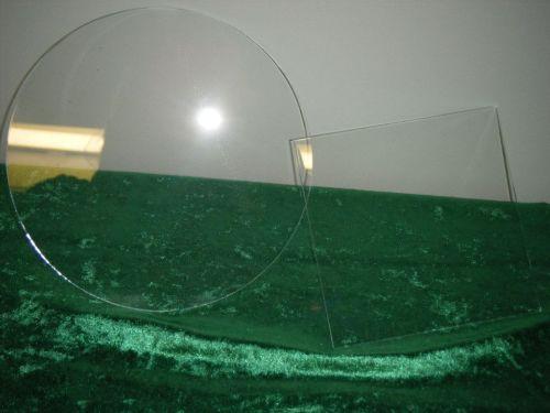 Clear Acrylic ganache plates