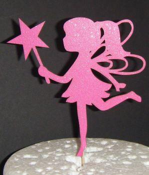 Fairy Silhouette Cake Topper  2
