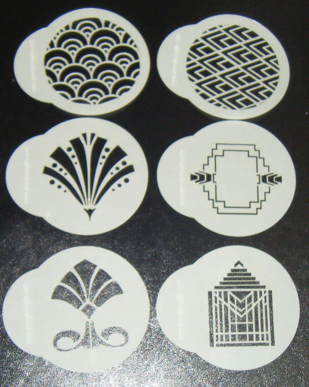 Art Deco Stencils