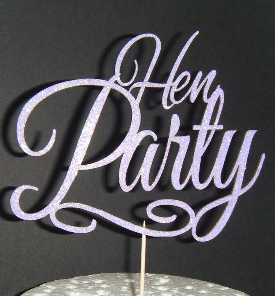 Hen Party Cake topper