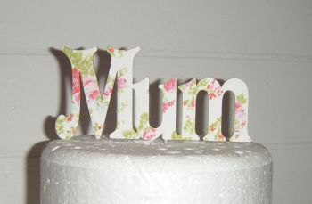 Mum Cake Topper style 2
