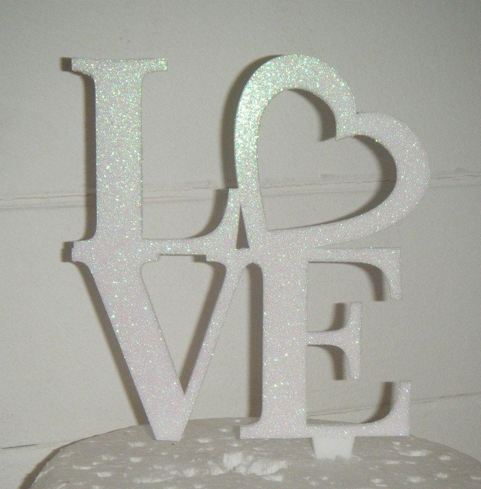 Love Cake Topper 6