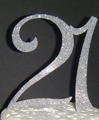 21 Cake Topper 3