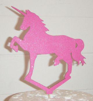 Unicorn Silhouette Cake Topper