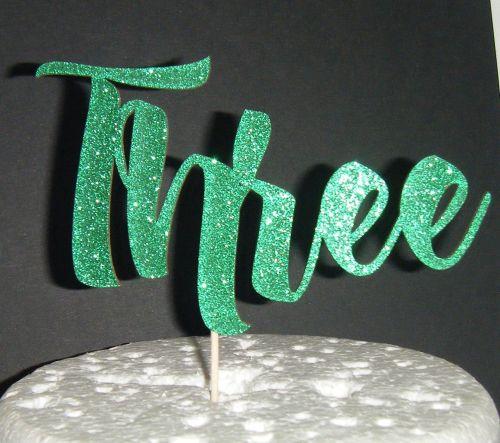 Three Cake Topper