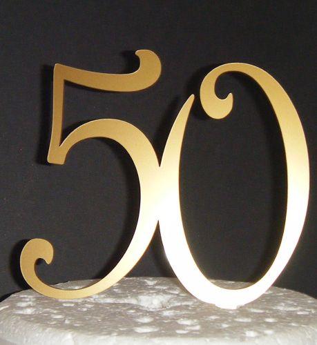 50 Cake Topper 3
