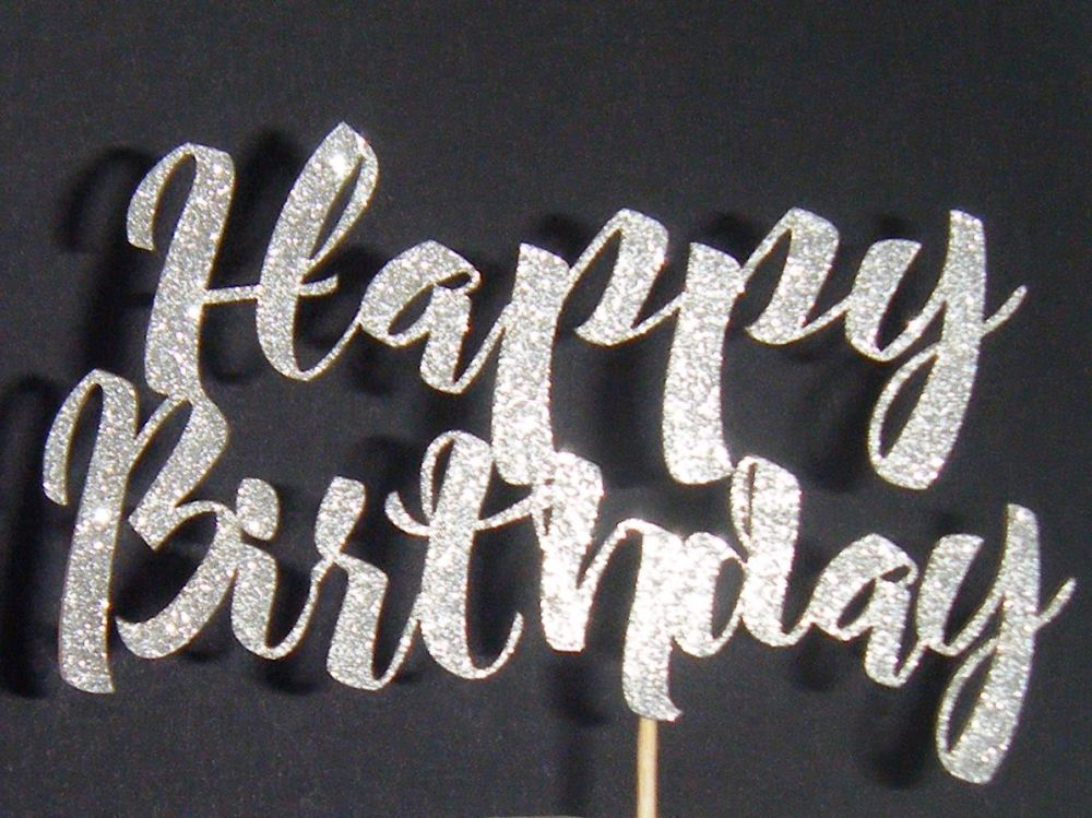 Happy Birthday Cake Topper 5