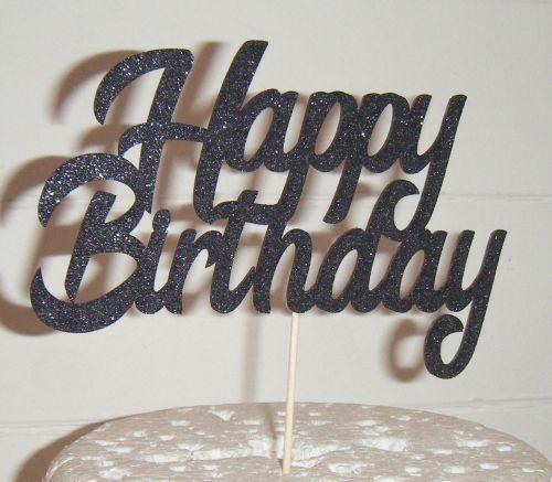 Happy Birthday Cake Topper 6