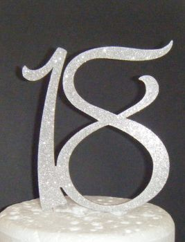 18 Cake Topper 5