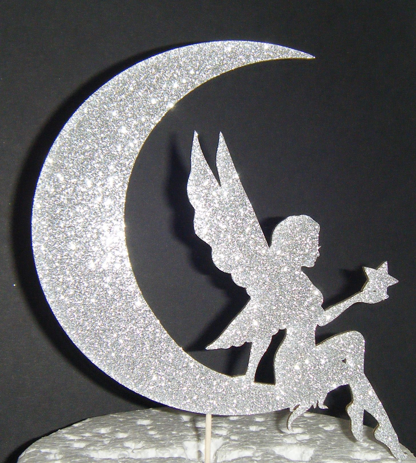 Fairy And Moon Cake Topper