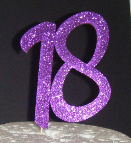18 Cake Topper 6