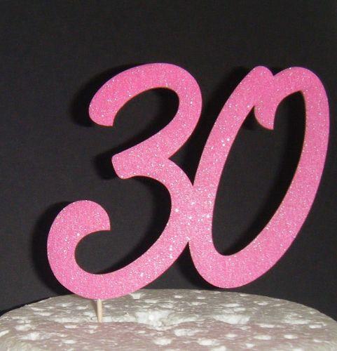 30 Cake Topper 4