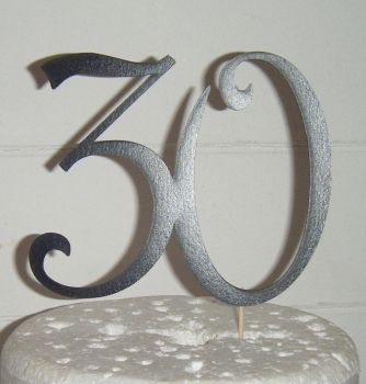 30 Cake Topper 5