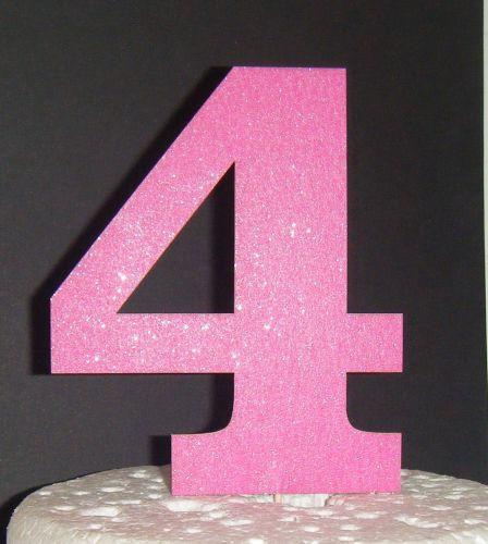 4 Cake Topper
