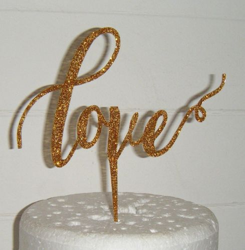 Love Cake Topper 3