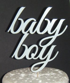 Baby Boy Cake Topper