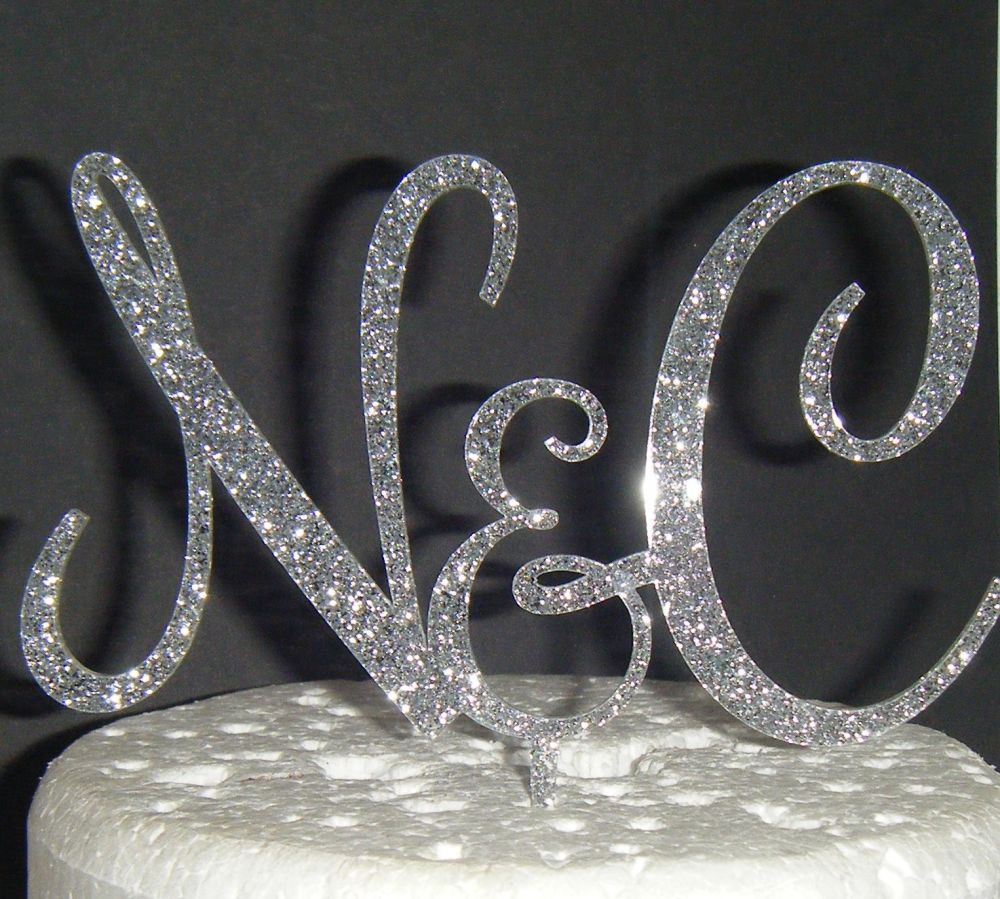 Rochester Initials Letters Topper