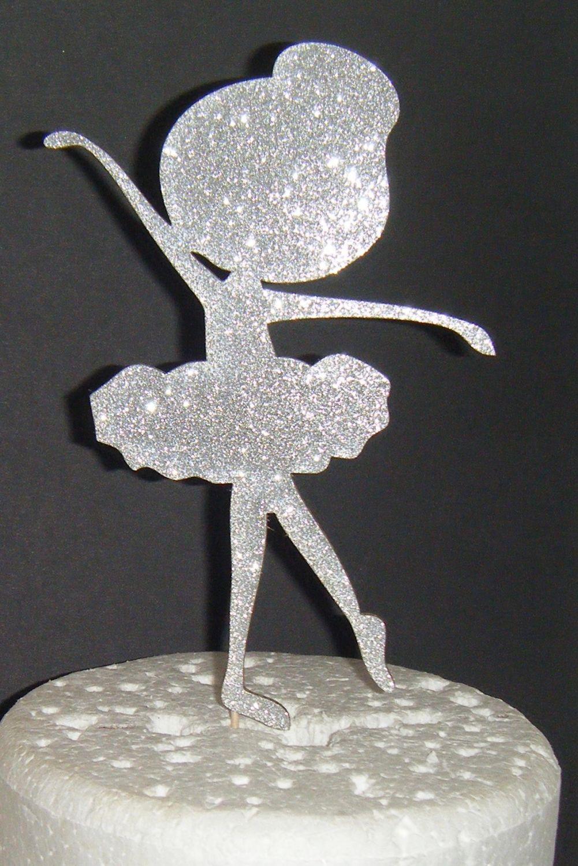 Ballerina Girl Cake Topper