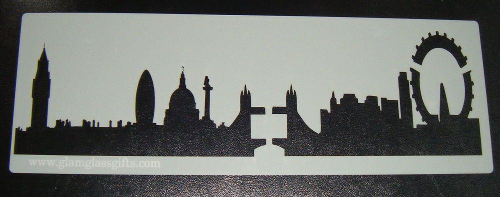 London skyline Cake stencil 2 New improved