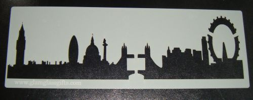 London skyline Cake stencil 2 New improved