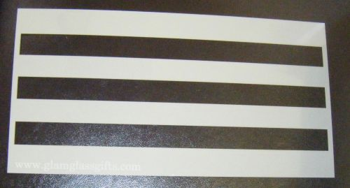 2cm Stripes Pattern Cake decorating stencil Airbrush Mylar Polyester Film