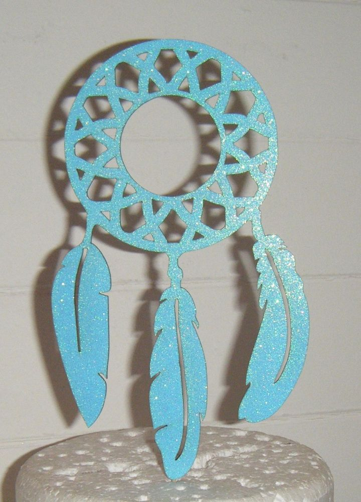 Dream Catcher Silhouette Cake Topper