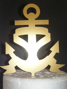 Anchor Silhouette Cake Topper 2