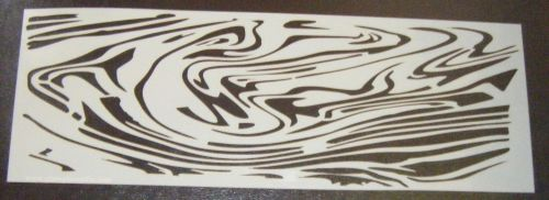 Marble effect Pattern Cake decorating stencil set Airbrush Mylar Polyester