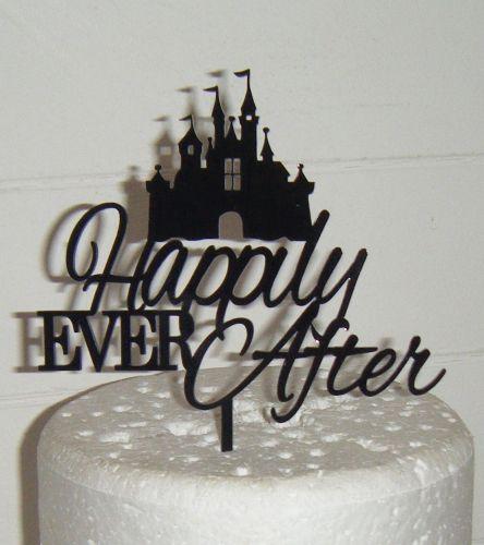 Castle Ever After Cake Topper