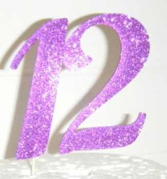 12 Cake Topper 2  (Sold design Exactly as shown)