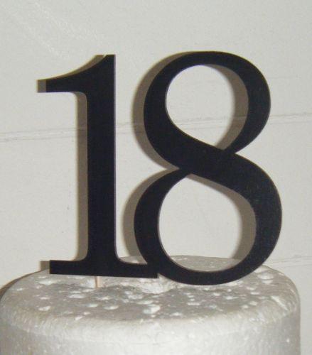 18 Cake Topper 7