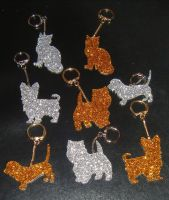 Dog/Cat Pet Keyring Acrylic - Any Animal