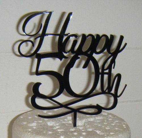 Happy 21st, 30th 40th 50th 60th etc  Cake Topper