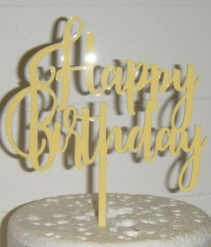 Happy Birthday Cake Topper 7