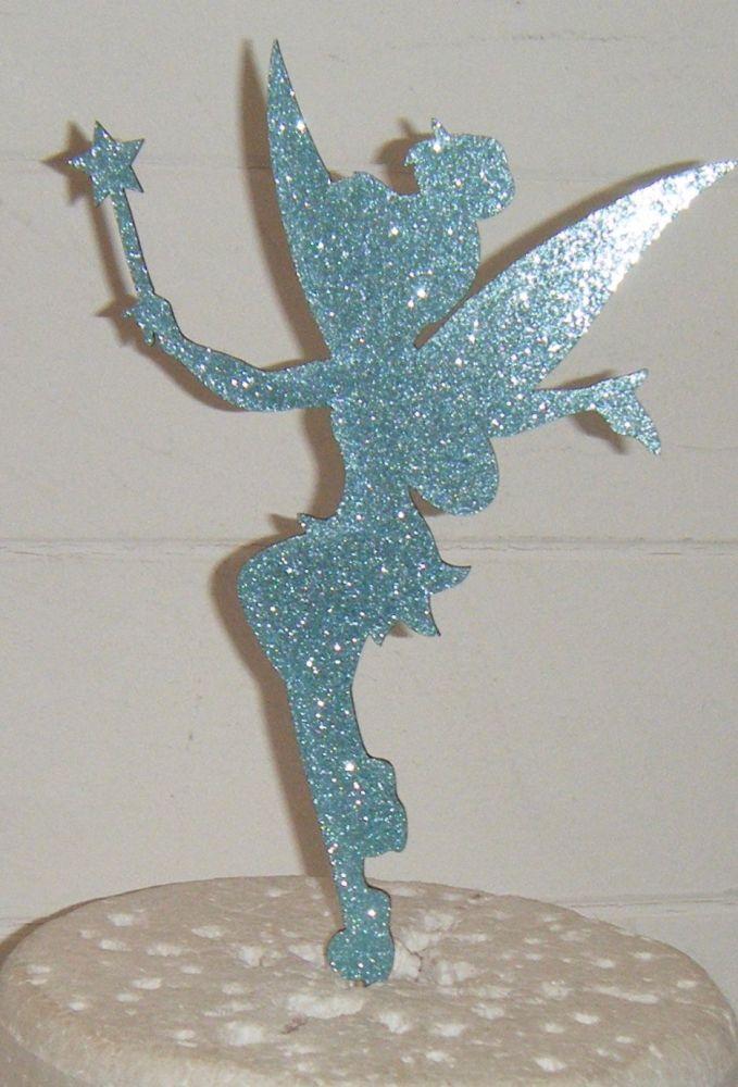 Tinkerbell Fairy Silhouette Cake Topper  3