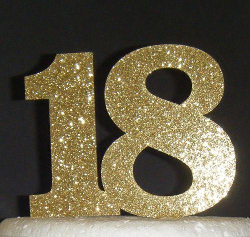 18 Cake Topper 1
