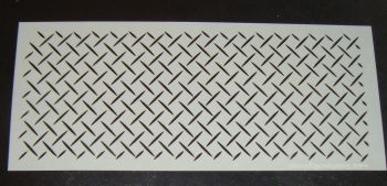 Lattice Cake Stencil Large 5 inch deep