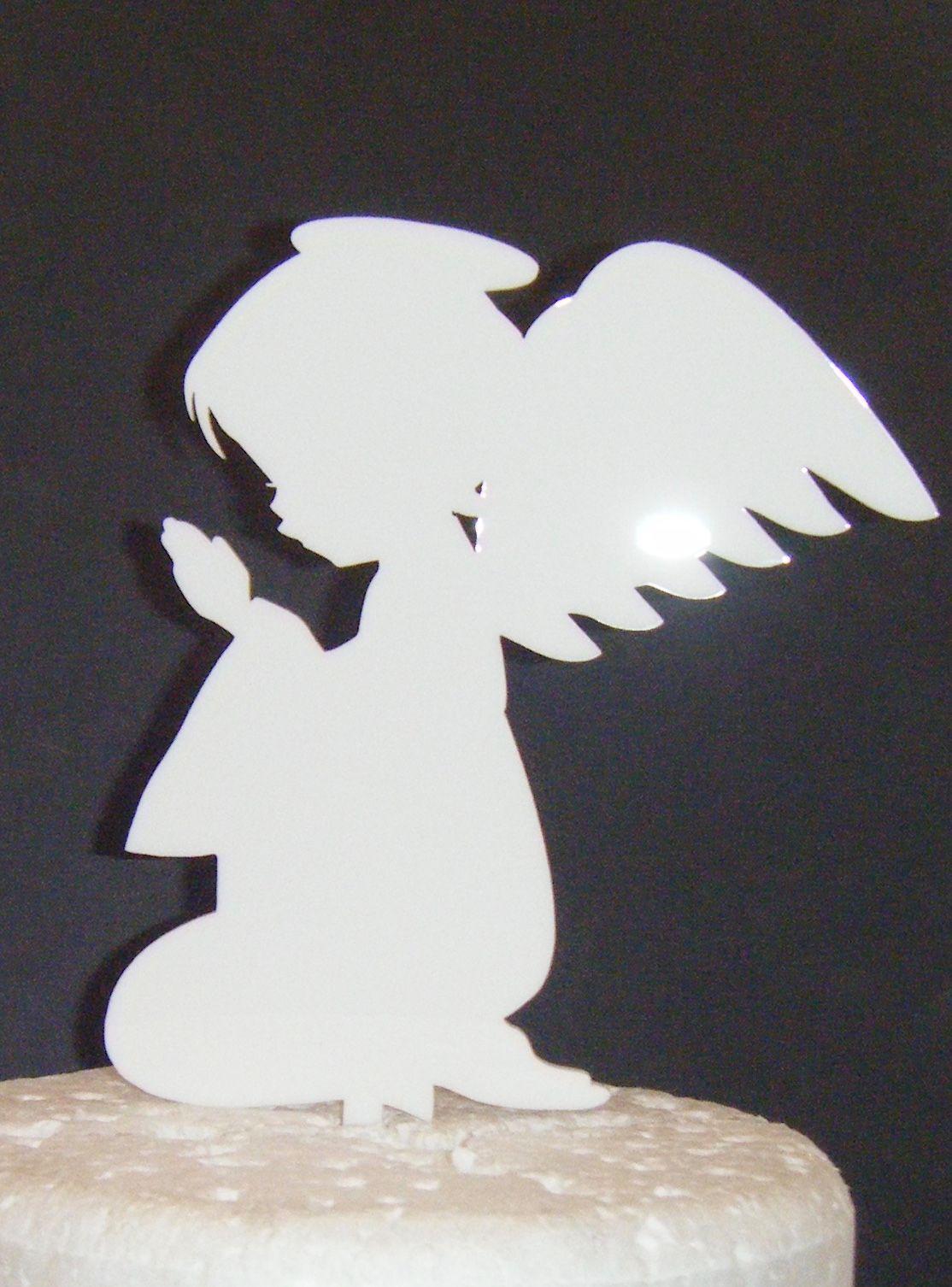 Angel child Praying Cake topper