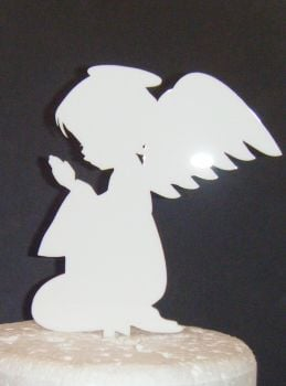 Angel child Praying Cake topper