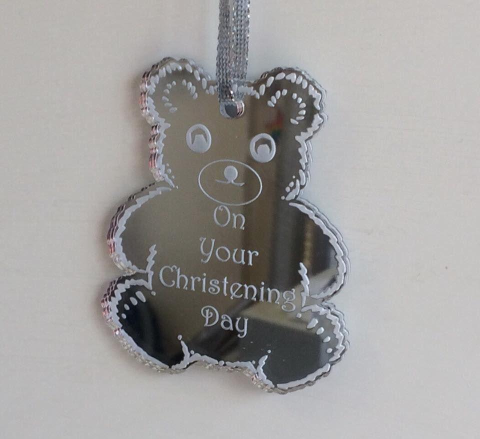 10cm Teddy Shape Or Any Shape With Custom Engraving