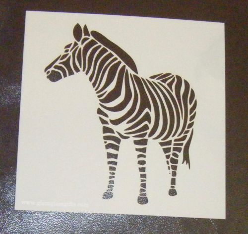 Zebra Cake airbrush Stencil