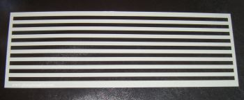 0.5cm Stripes Pattern Cake decorating stencil Airbrush Mylar Polyester Film
