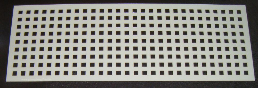 Grid Squares 0.5cm Pattern Cake decorating stencil Airbrush Mylar Polyester