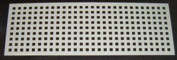 Grid Squares 0.5cm Pattern Cake decorating stencil Airbrush Mylar Polyester Film