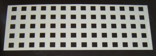 Grid Squares 1cm Pattern Cake decorating stencil Airbrush Mylar Polyester F