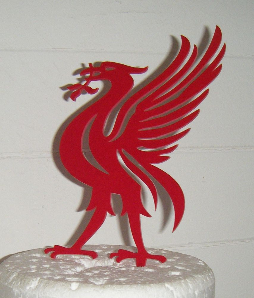 Liverbird Liverpool Topper Silhouette Cake Topper