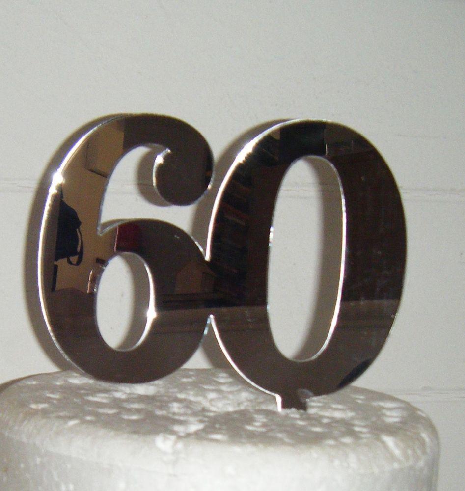 60 Cake Topper 5
