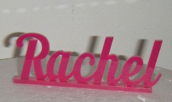 10cm Long Mini Name Shelf Sign / Cake Topper