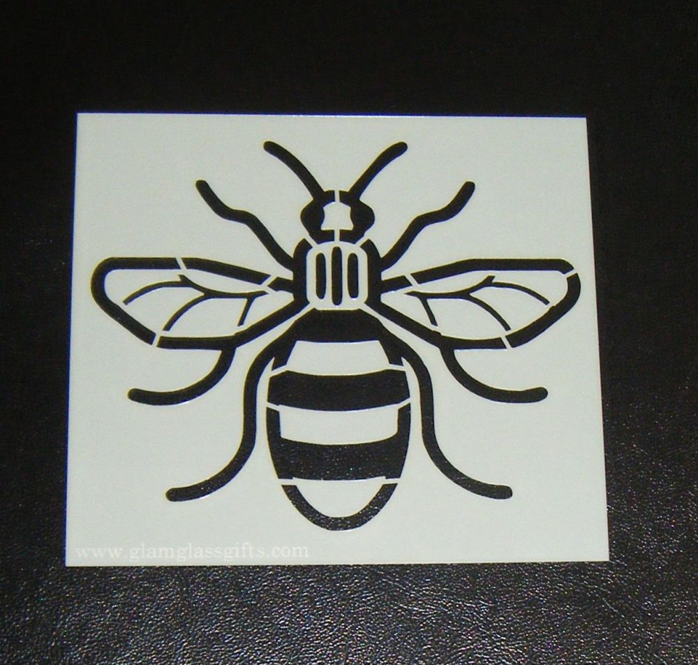 Bee cake or craft stencil