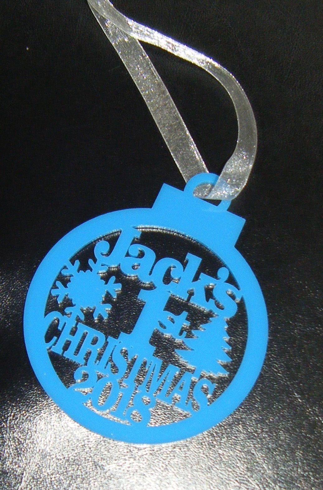Name 1st Christmas 2018 Tree Bauble Decoration